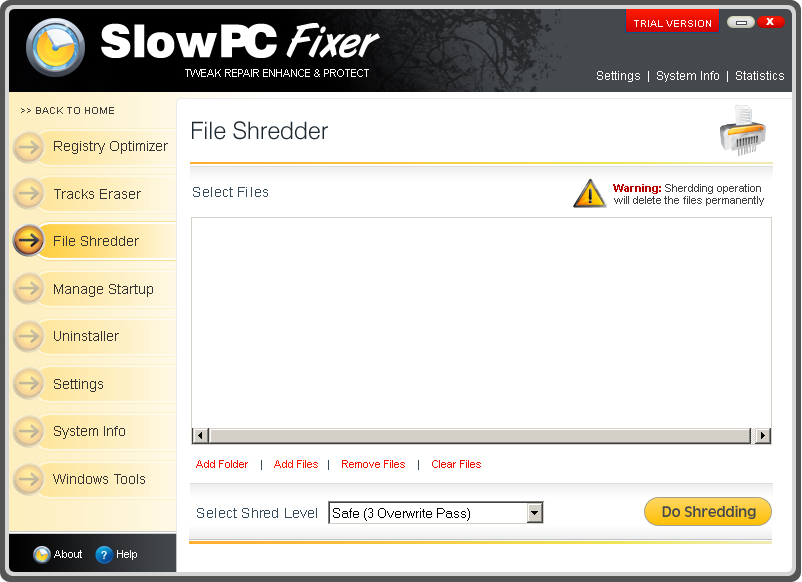 Slow PC Fixer